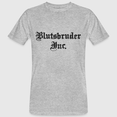 gym BLUTSBRUDER INC gym - Männer Bio-T-Shirt