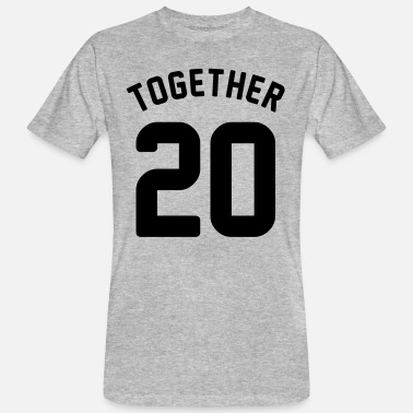 Together Since 2014 Together since - couple shirt - love - year - Men's Organic T-Shirt