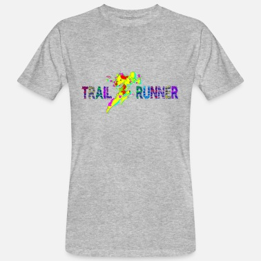 Trail Runner Trail runner - Men's Organic T-Shirt