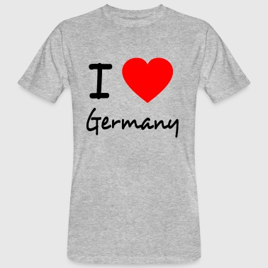 I LOVE GERMANY - Ekologisk T-shirt herr
