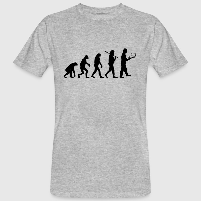 NERD EVOLUTION - Men's Organic T-shirt
