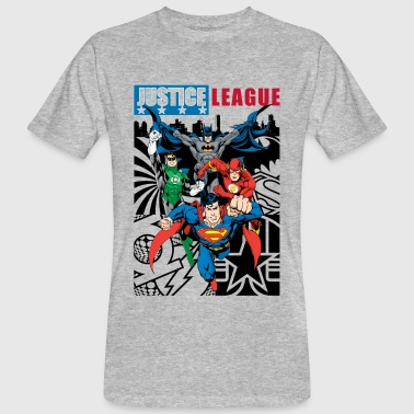 DC Comics Ligue De Justice D'Amérique Couverture - T-shirt bio Homme