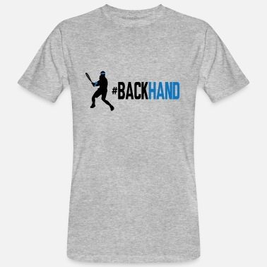 Backhand backhand 01 - Men's Organic T-Shirt