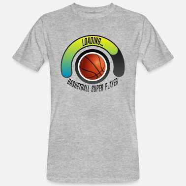 Womens Basketball basketball super player loading progress bar - Men's Organic T-Shirt