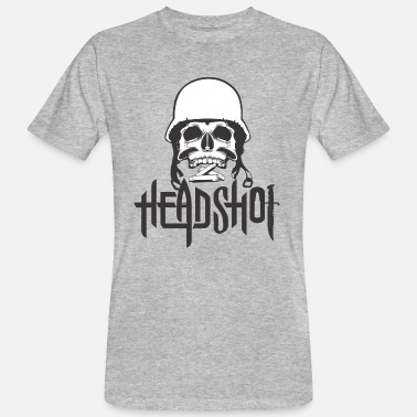 Shot In The Head Head shot - Men's Organic T-Shirt
