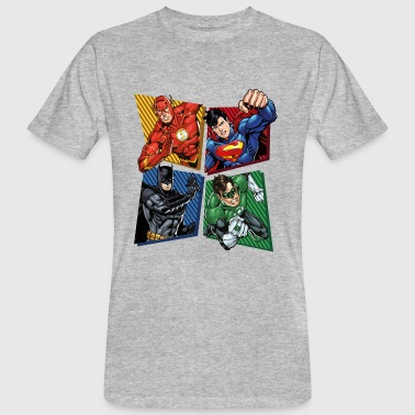 DC Comics Justice League Superhelden - Männer Bio-T-Shirt
