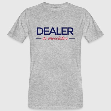 DEALER de chocolatine - T-shirt bio Homme