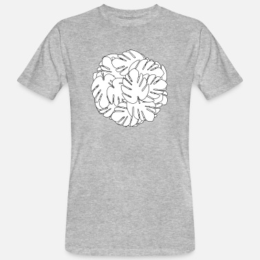 Monstera Monstera ball - Men's Organic T-Shirt