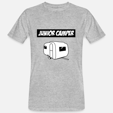Junior Junior kampeerders - Mannen Bio-T-shirt