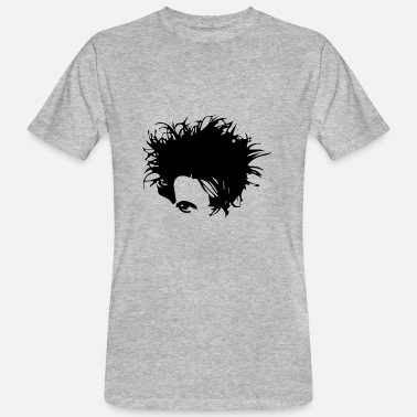 New Wave Gothic New Wave Head - Ekologisk T-shirt herr