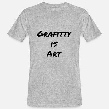 Arthawk Grafitty is kind - Men's Organic T-Shirt