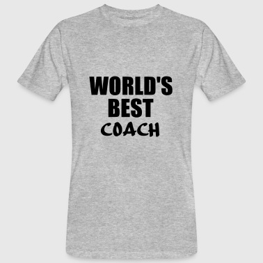 Coaching Quotes coach - Men's Organic T-Shirt