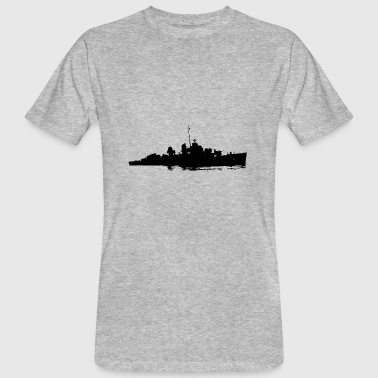 Battle battle ship - Ekologisk T-shirt herr