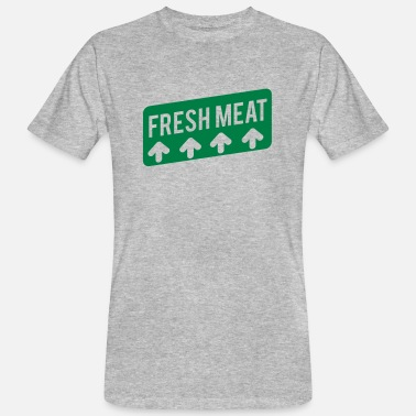 Fresh Fresh meat - Men's Organic T-Shirt