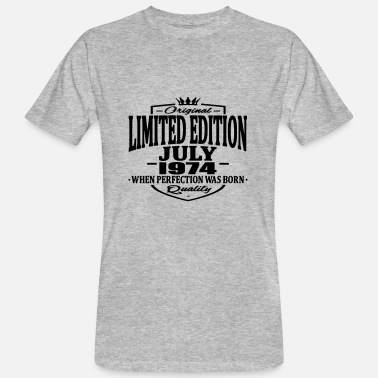 Limited Limited edition july 1974 - Men's Organic T-Shirt