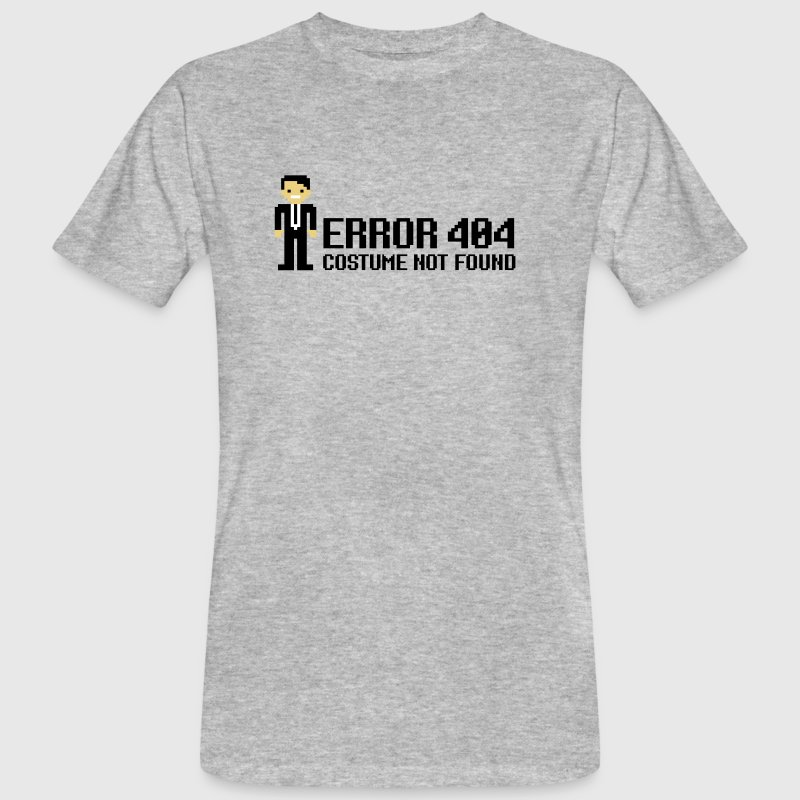 Error 404  - Costume not found - Men's Organic T-shirt