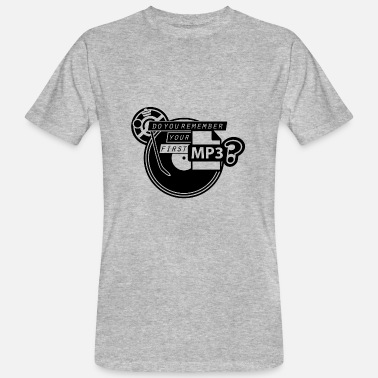 Mp3 MP3 - Ekologisk T-shirt herr