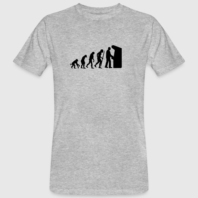 Evolution Arcade - Men's Organic T-Shirt