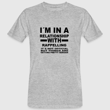 relationship with RAPPELLING - Men's Organic T-Shirt