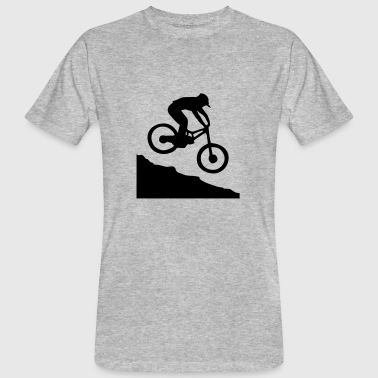 Downhill biking - T-shirt bio Homme