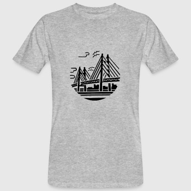 bridge - Mannen Bio-T-shirt