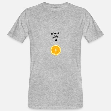 Lemon Jokes Fresh like a lemon - Men's Organic T-Shirt