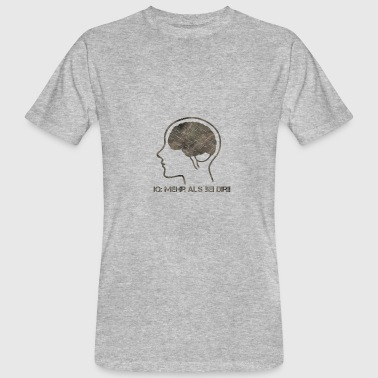 Iq The IQ test - Men's Organic T-Shirt