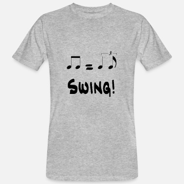 Swing Music Swing! - Mannen Bio-T-shirt
