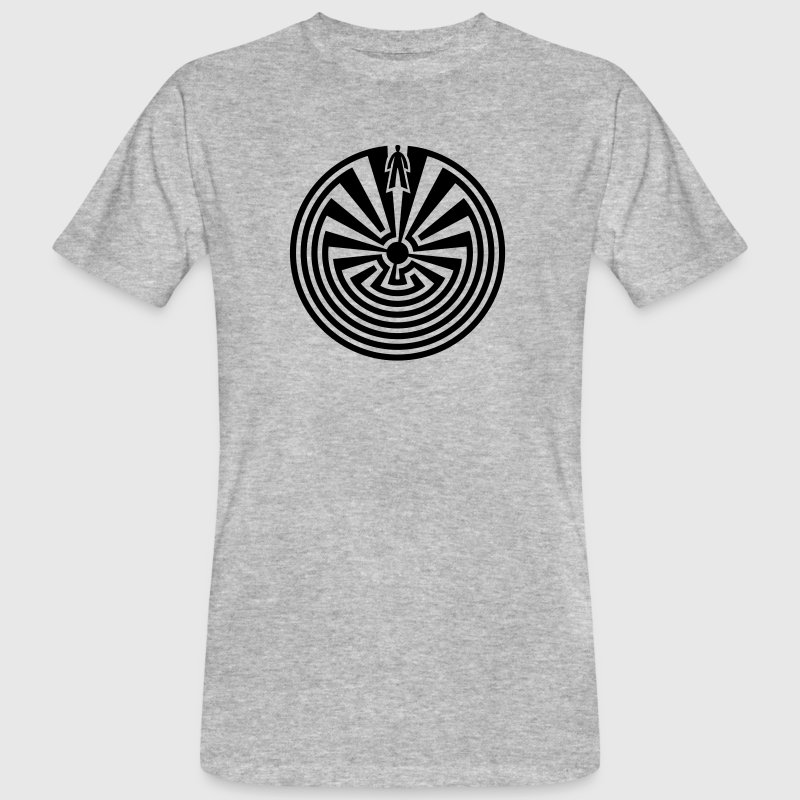 I'itoi, Man in the Maze, Papago Indians, Journey - Men's Organic T-shirt