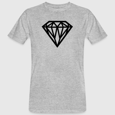 Diamond - Diamond - Men's Organic T-Shirt