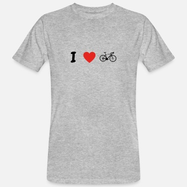 I Love Cycling I love cycling cycling triathlon cycle png - Men's Organic T-Shirt
