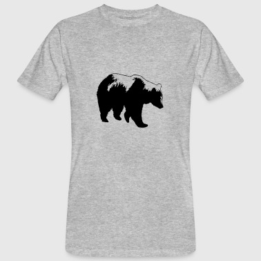 bear - brown bear - hunting - hunter - Men's Organic T-shirt
