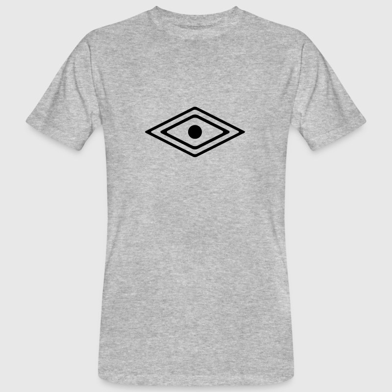 Eye of a Medicine Man Symbol, wisdom and awareness - Men's Organic T-Shirt