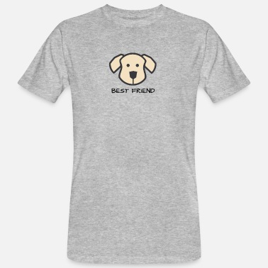 Dog Friend Dog friend - Best Friends - Men's Organic T-Shirt