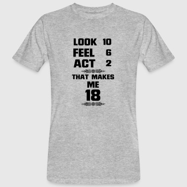 I GOT TO SEE 18 YEARS USED, SO GOOD! - Men's Organic T-Shirt