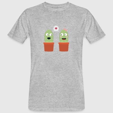 In love with cacti - Men's Organic T-shirt