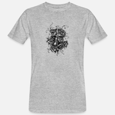 Daggers Dagger and snake - Men's Organic T-Shirt