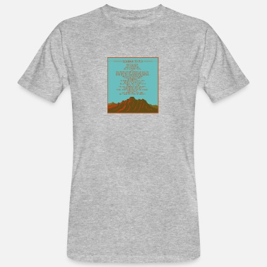 Learn To Fly Learn to fly - Men's Organic T-Shirt