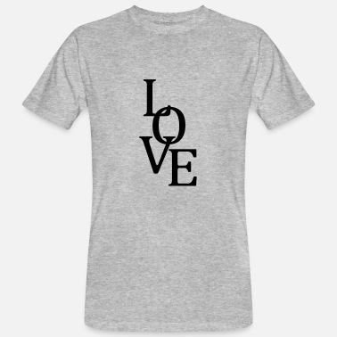 Plot Printing Great Love - Love T-Shirt - Men's Organic T-Shirt
