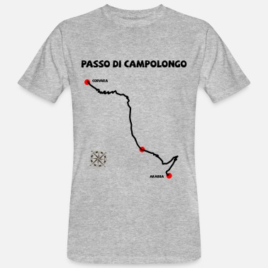 Alps Mountains Passo di Campolongo Passo Campolongo - Men's Organic T-Shirt