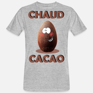 Chaud chaud cacao - T-shirt bio Homme