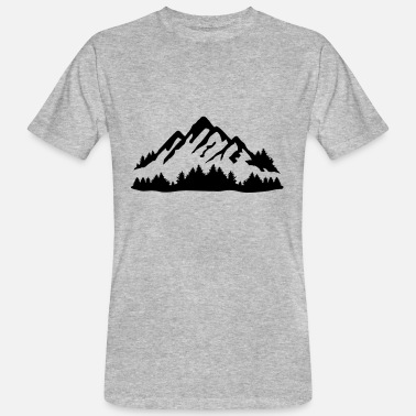 Mountains and Forest - T-shirt bio Homme