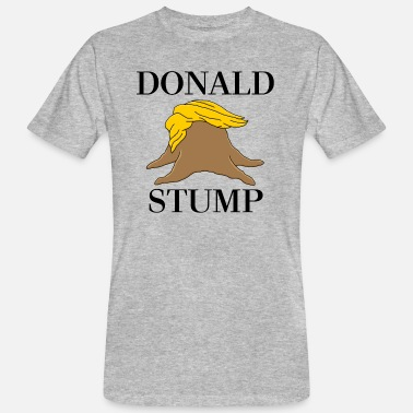 Stump Donald Stump - Ekologisk T-shirt herr