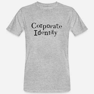 Corporation Corporate Identity - CI corporate identity - Men's Organic T-Shirt