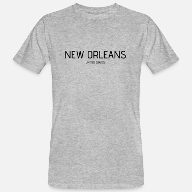 Orleans New Orleans - Miesten luomu t-paita