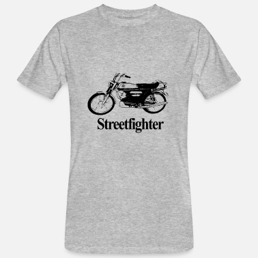 Streetfighter Moped Streetfighter - Ekologisk T-shirt herr