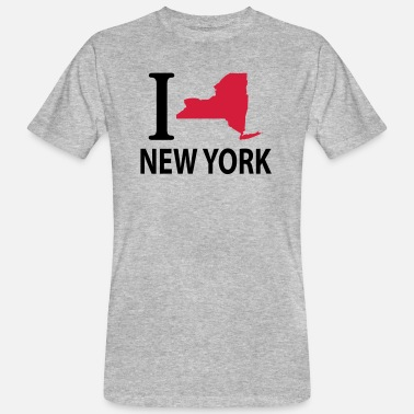 I Love New York I love New York - T-shirt bio Homme