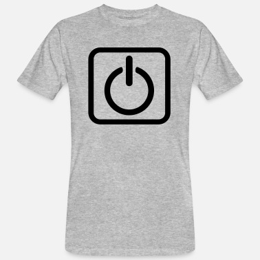 Key-button Power Button Start Key power button icon button - Men's Organic T-Shirt