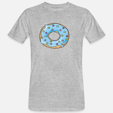 Tooth Donut food sweet part sweets sweet tooth - Men's Organic T-Shirt