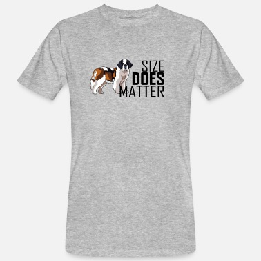 Does DOG size does matter - Männer Bio T-Shirt